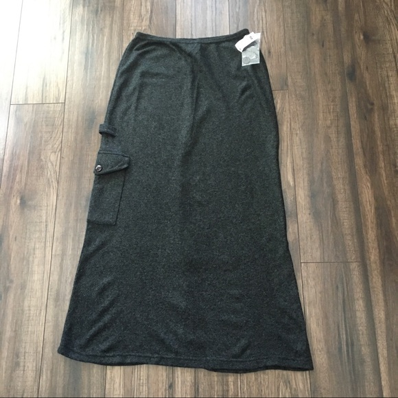 NWT Daniel Hechter long warm winter skirt